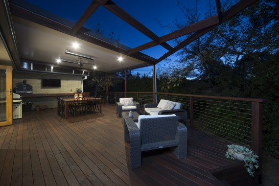 ACT Decks - Latham - Outdoor living area