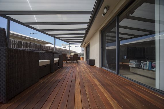 ACT Decks - Franklin - Home with outdoor deck